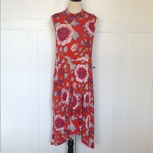 Maeve by Anthropologie red color dress